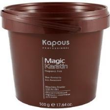 Осветляющий порошок с кератином KAPOUS, 500 ml